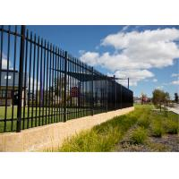 Security Fencing Spear Top - 1800 x 2400 Black Panel Manufactures