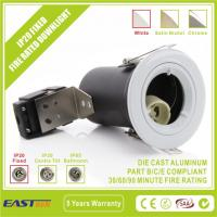 China Fire Rated Downlight - IP20 Fixed White GU10 on sale