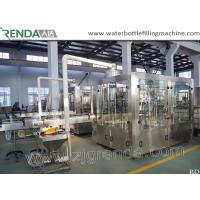 Beer Washing Filling Capping 3-in-1 Carbonated Glass Bottle Filling Machine Manufactures