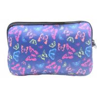 Sublimation Soft Zippered Makeup Pouch, Pantone Color Lightweight Cosmetic Bag Manufactures