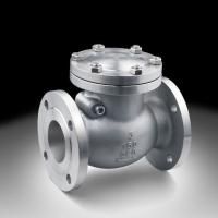 Cheap Stainless steel 2Cr13 Seat Raised Face Swing Check Valve ISO 9001 / API 6D for sale