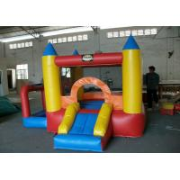 Kids Outdoor Small Inflatable Commercial Bounce Houses / Bouncy Castles For Hire Or Rental Manufactures