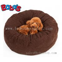 High Quanlity Plush Thick Pet Bed Dog Sofa Cat Mat In Dark Brown Color Manufactures