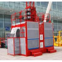 frequency conversion ISO9001 approved construction hoist Manufactures