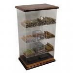 6mm Acrylic Countertop Display Case Humidor Acrylic Cigar Display Cabinet Manufactures