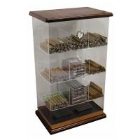 6mm Acrylic Countertop Display Case Humidor Acrylic Cigar Display Cabinet Manufactures
