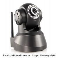 Buy cheap Wireless Wifi IR network IP Camera HZ-IP380 Support 3G mobile, iphone with night vision from wholesalers