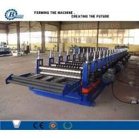 Roofing And Cladding Panel Roll Forming Machine / Steel Roll Forming Machine