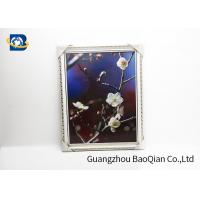 PET / PP 3D Lenticular Pictures Printing Beauiful Flower Pattern For Home Decoration