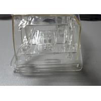 Hot Runner Metal Insert Overmold Auto Parts Mould PC Clear For Lamp Housing