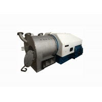 Horizontal Bottom Discharge Chemical Centrifuge For Plastic Particles Manufactures