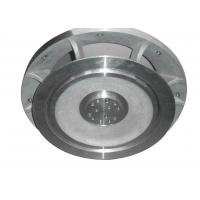 Customized CNC Part Aluminum Pipe Flange Powder Coating High Voltage Switch Manufactures