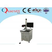 F - Theta Lens CNC Laser Marking Machine 30W Z Axis Automation System For Printing Manufactures