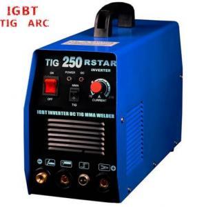 Blue Color Tungsten Inert Gas Welding Machine , IGBT AC DC Welding Machine Manufactures
