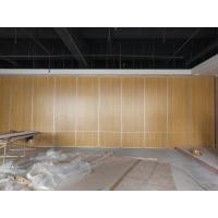 China Multi Color Restaurant Partition Wall System With Aluminium Trolley Sliding Folding Doors on sale