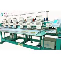 High Speed 6 Head Computerized Embroidery Machine For Baseball Caps , 110V / 220V Manufactures