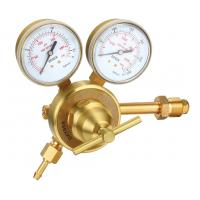 China Heavy Duty CO2 Argon Gas Pressure Regulator With Meter For Welding And Cutting Industry on sale