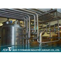 Seamless Titanium Pipe ASME SB338 GR2 Titanium Tubing For Chemial And Oil Industry