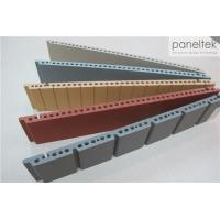 Colorful Ceramic Exterior Wall Panels Products Reliable 300 * 800 * F18mm Size Manufactures