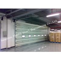 Vertically Opening Transparent Industrial Garage Doors With Flexible Curtain Shutter Doors Manufactures