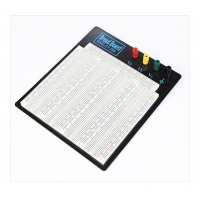 Large Solderless Breadboard Kit 3220 Points With Black Aluminum Plate Manufactures
