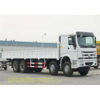 SINOTRUK HOWO Big Cargo Truck 371HP Steer Engine  6x4 Fence Cargo Truck Euro 2 Manufactures