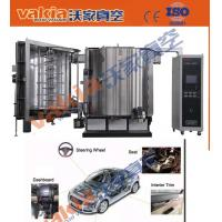 Automatic PVD Plating Equipment , Automotive Interiors Carbon Fiber PVD Chrome Plating Manufactures