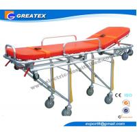 Double Hydraulic Hospital Medical Stretcher Emergency Ambulance Chair Manufactures