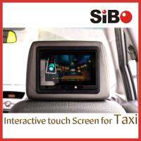 Touch Screen Tablet Taxi Advertising Player