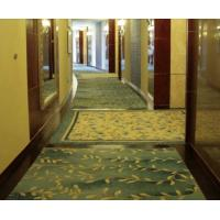 China Handmade Chinese Wool Carpets For Bar Luxury Room , Hand Knotted Corridor Rug on sale