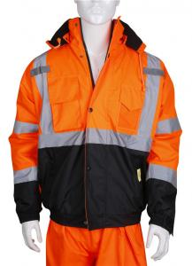 Yellow And Orange 5XL OEM 0.3kg High Vis Safety Vests Manufactures