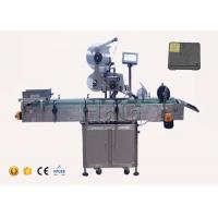 Cheap High accuracy automatic flat surface label applicator servo motor with coding machine for sale