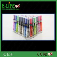 Cheap Sale high quality CE4 Clearomizer for ego/evod/ego twist battery from E-Life Smoking Manufactures