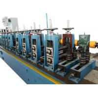 China PLC Control System Downspout Roll Forming Machine 1.2 Inch Chain Drive on sale
