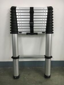Anti Rust Aluminum 3.2m Telescopic Platform Ladder Manufactures