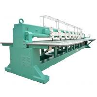 Computerized 10 head Taping / Coiling Embroidery Machines with 550mm head interval Manufactures