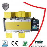 Quality Motorized Manual Transfer Switch Auto High Security Max +60ºC For Power System for sale