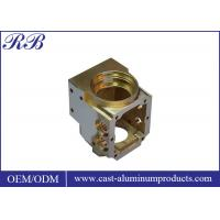 Polishied Surface Custom Brass Casting High Precision Wear Corrosion Resistance Manufactures
