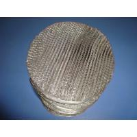 China Metal Wire Gauze Structured Packing on sale