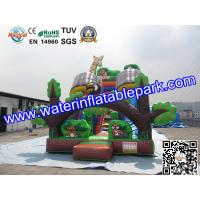 Custom Animal Inflatable Slide / Inflatable Dry Slide with Fire Resistant Manufactures