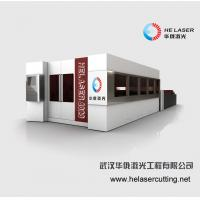 Cheap Enclosed Stainless Steel Fiber Laser Cutting Machine Industrial With Safe Room for sale