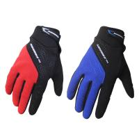 No Deformation Adults Waterproof MTB Gloves , Waterproof Winter Bike Gloves Manufactures