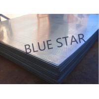 304 / 316 Stainless Steel Perforated Sheet Metal Plate 0.2 - 12MM Thickness Manufactures