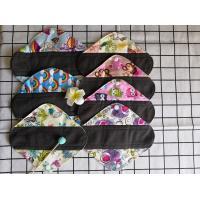 Organic Bamboo Cloth Menstrual Pads For Lady / Girl / Mum Panty Liners Manufactures