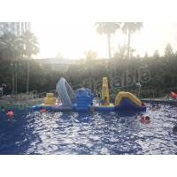 Large Floating Inflatable Aqua Park Water Games With Slide For Outdoor Entertain Manufactures