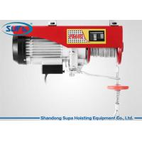 China PA600 Electric Wire Hoist 110V - 220V  Working Voltage With Monorail Trolley on sale
