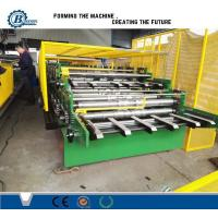 Double Layer Rolling Forming Machine , Double Deck Sheet Metal Forming Machine Manufactures