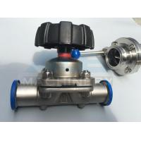 Stainless Steel Three Way Sanitary Diaphragm Valve (ACE-GMF-C1) Manufactures