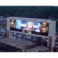 China IP65  Pixel Pitch 10mm Outdoor LED Advertising Display Board For Advertising on sale