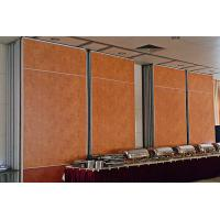 Hanging System Soundproofing Sliding Partition Walls Movable Rolling Wooden Manufactures